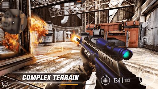 Call of modern FPS: war commando FPS Game 1.9 screenshots 2