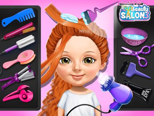 Sweet Baby Girl Beauty Salon 3 - Hair, Nails & Spa  screenshots 13