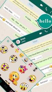SMS Messenger Keyboard 3