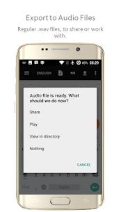 TTSReader PRO – Text To Speech MOD APK 4
