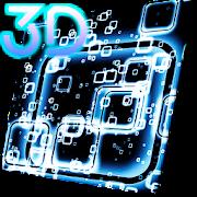 Squares Parallax 3D Live Wallpaper