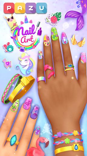 Nail Art Salon - Manicure & jewelry games for kids 1.0 screenshots 1