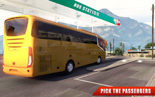 Euro Coach Bus Driving - offroad drive simulator android2mod screenshots 6