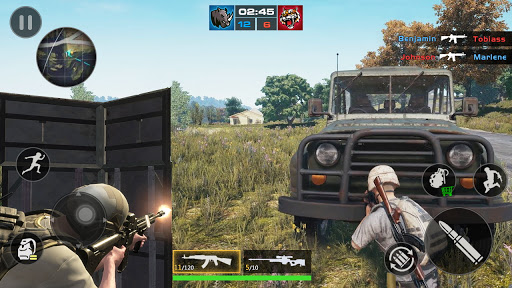 FPS Encounter Strike 2020: New Gun Shooting Games screenshots 11