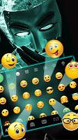 Anonymous Mask Keyboard Theme