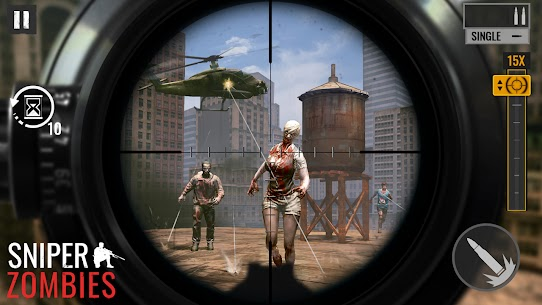 Sniper Zombies Offline Games 3D Hileli Apk Güncel 2021** 1