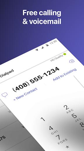 Text Free: WiFi Calling App ud83cudd93  Screenshots 2
