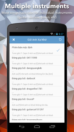 Hop Am Chuan - Guitar Tabs and Chords android2mod screenshots 6