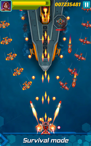 Sky Raptor: Space Shooter - Alien Galaxy Attack  screenshots 11