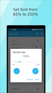 Font Size Mod Apk 1.12.0 (Ad Free/Paid) 6