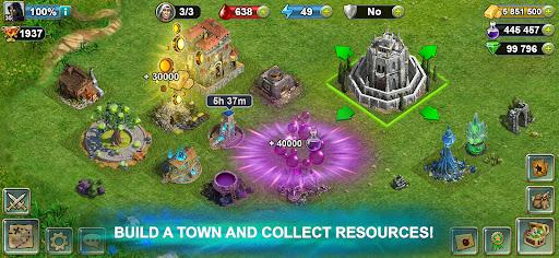 Blood of Titans: Quest & Battle Fantasy ccg 1.19 screenshots 5