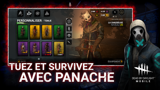 Code Triche DEAD BY DAYLIGHT MOBILE - Multiplayer Horror Game (Astuce) APK MOD screenshots 4