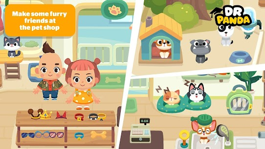 Dr. Panda Town Mall MOD (Unlimited Money) 4