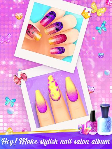 Nail Salon Manicure - Fashion Girl Game apkmr screenshots 5