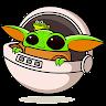 Baby Yoda Stickers for WhatsApp WAStickerApps app apk icon