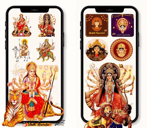 All God Godness Stickers Happy Navratri Durga Mata Apkfinish screenshots 1