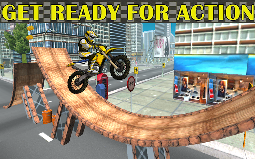 Motorcycle racing Stunt : Bike Stunt free game 2.1 screenshots 1
