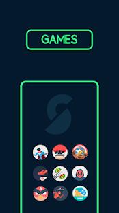 Supercons - Screenshot del pacchetto di icone del supereroe