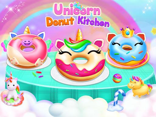 Unicorn Donut Maker: Dessert Cooking Mania  Screenshots 1