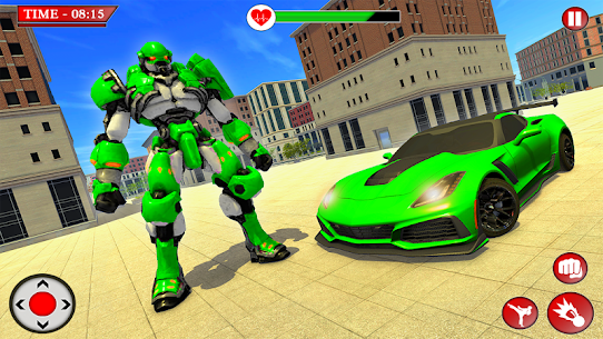 Robot Transformation Car 2020- Fast Robot War game Hack Online (Android iOS) 1