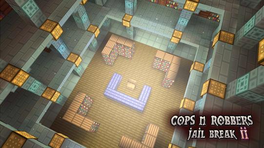 Cops N Robbers: 3D Pixel Prison Games 2 8