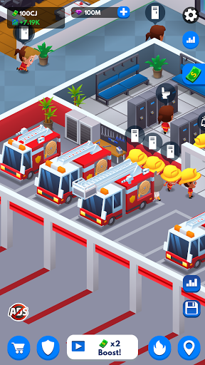 Idle Firefighter Tycoon - Fire Emergency Manager 0.14 screenshots 5