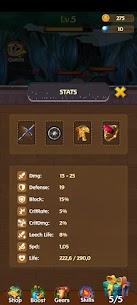 Merge Hero Tales – Idle AFK RPG Mod Apk 1.0 (High DMG + Lots of Gold) 6