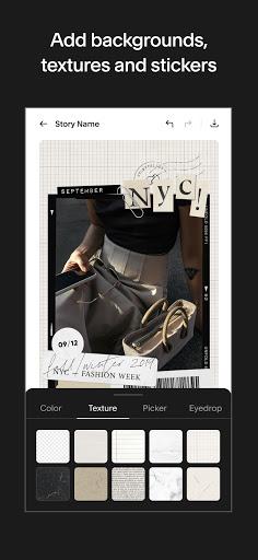 Unfold u2014 Story Maker & Instagram Template Editor apktram screenshots 6