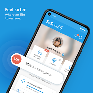 SoSecure  Personal Safety. Live Emergency Response Apk 1