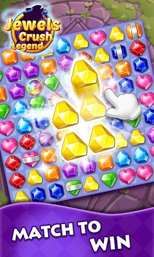 Jewels Crush Legend- Diamond & Gems Free Match 3 1.0.5 screenshots 3