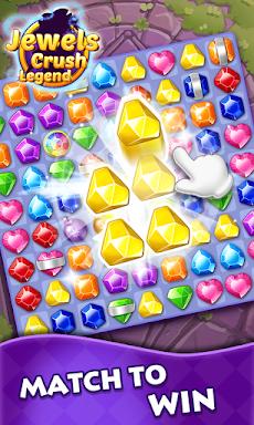 Jewels Crush Legend- Diamond & Gems Free Match 3のおすすめ画像3