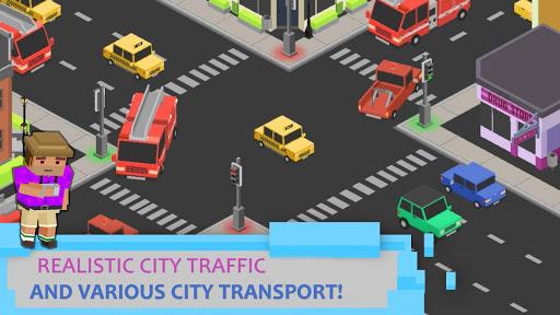 crossroads: traffic light screenshot 1