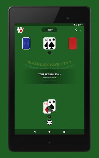 Blackjack - Free & Offline 1.7.1 Screenshots 12