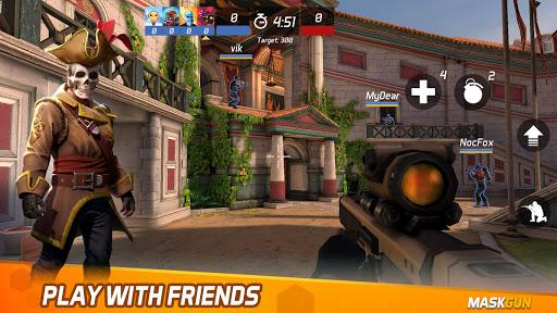 MaskGun Multiplayer Shooting Game - Made in India screen 2