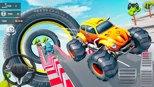 Mega Ramp Car Stunts 3D: Free Ramp Car Games 2021 screenshots 9