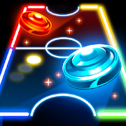 Neon Air Hockey - Extreme A.I. Championship