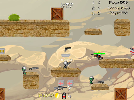 Stickman Multiplayer Shooter 1.092 screenshots 9