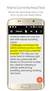 TTSReader PRO – Text To Speech MOD APK 2