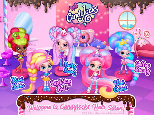 Candylocks Hair Salon - Style Cotton Candy Hair  Screenshots 18