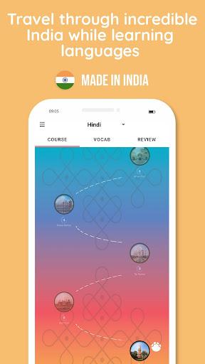 Learn Hindi, Sanskrit, Kannada, Tamil and more 4.0.5 screenshots 1