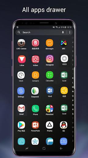 Super S9 Launcher for Galaxy S9/S8/S10 launcher  screenshots 2