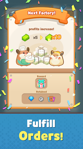 Idle Cake Tycoon - Hamster Bakery Simulator android2mod screenshots 4