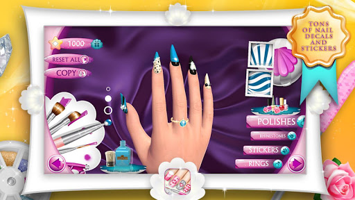 Fashion Nails 3D Girls Game 9.1.5 Screenshots 8