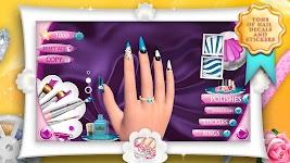 screenshot of Fashion Nails 3D Girls Game