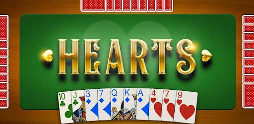Screenshot of Hearts Card Game