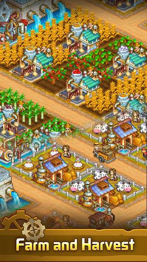 Steam Town: Farm & Battle, addictive RPG game  screenshots 2