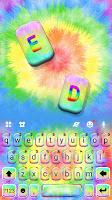 Hippy Tie Dye Keyboard Theme