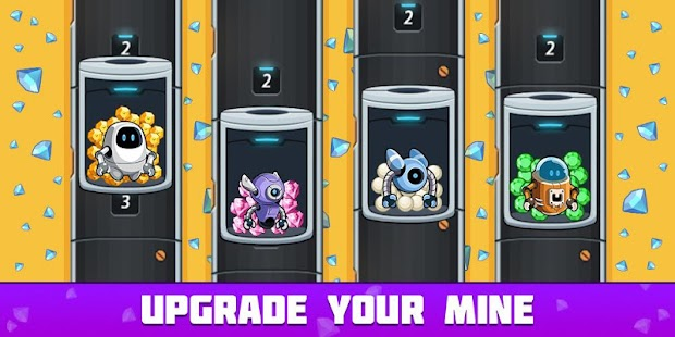 Idle Space Miner - Idle Cash Mine Simulator Screenshot