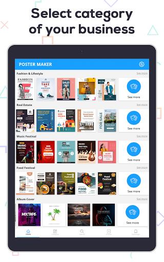Poster Maker 2021 - Create Flyers & Posters  Screenshots 19