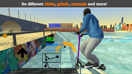 Scooter FE3D 2 - Freestyle Extreme 3D 1.28 screenshots 1